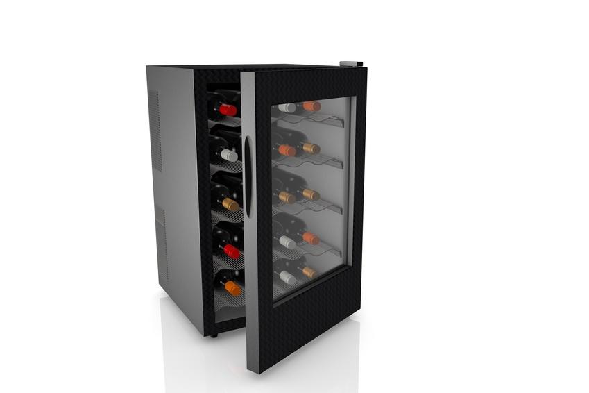 An elegant, single zone, 20 bottle wine refridgerator